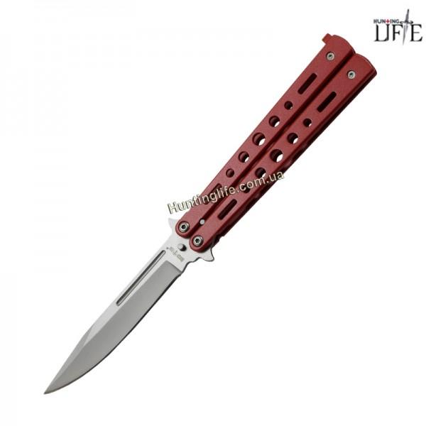 Нож балисонг 15084 W (red)