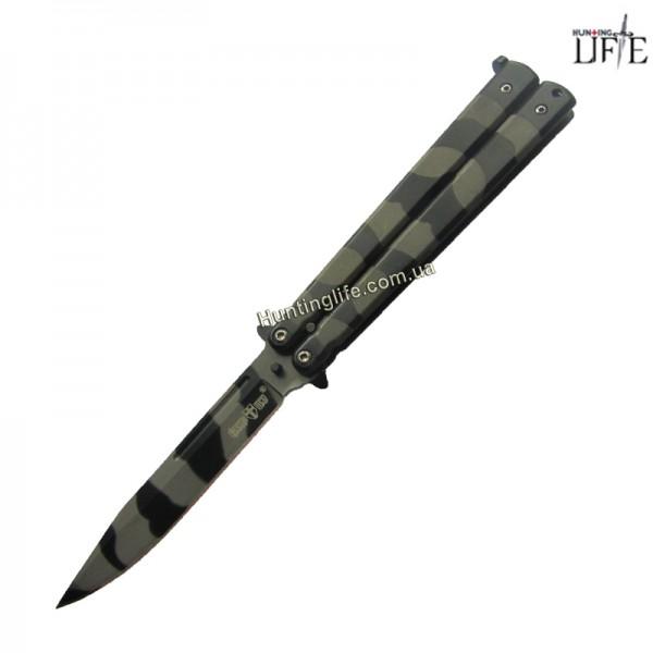 Нож Балисонг 1863 А (хаки)