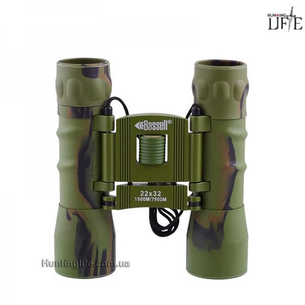 Бинокль 22x32 Bassell (green)